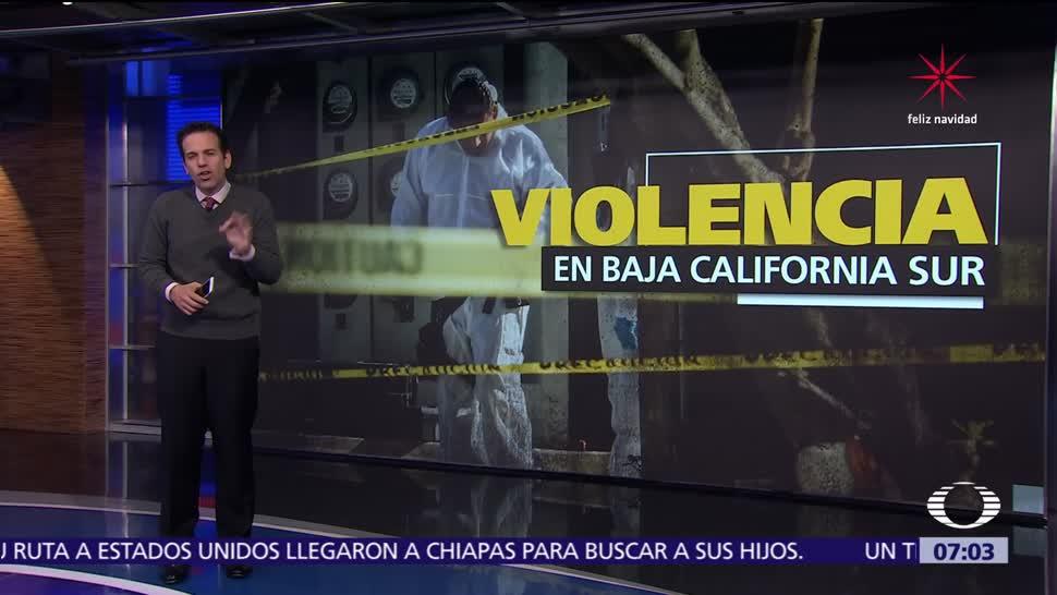 Cifra de homicidios dolosos en Baja California Sur aumenta 300 por ciento