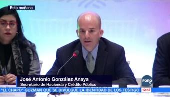 José Antonio González Anaya afirma que Hacienda cumplirá con sus proyecciones
