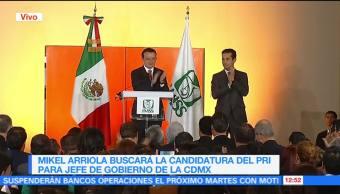 Mikel Arriola realiza ceremonia de entrega de la dirección del IMSS