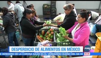 Desperdicio de alimentos impacta negativamente la economía mexicana