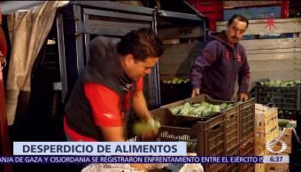 México desperdicia más de 20 millones de toneladas de alimentos cada año