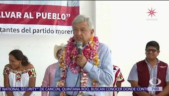 López Obrador dice que Meade se enfrentará a la voluntad del pueblo