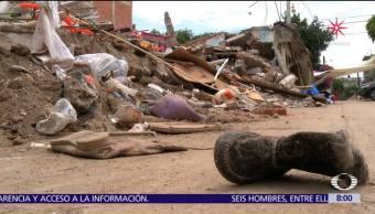 Habitantes de Juchitán piden no olvidar reconstrucción en comunidades devastadas tras sismo