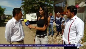 Ingenieros supervisan y orientan a habitantes de Juchitán para reconstruir viviendas