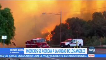 Trump declara estado de emergencia en California por incendios forestales