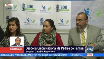 Unión Nacional de Padres de Familia revela cifras de acoso escolar