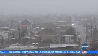 Frente frío número 14 mantiene bajas temperaturas en Chihuahua