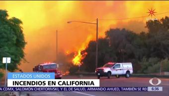 Muere una mujer por incendios en California