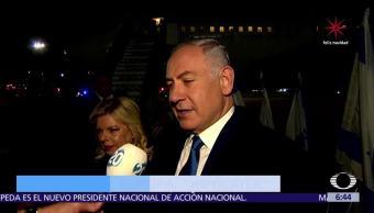 Netanyahu acusa a líderes europeos de hipócritas