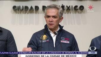 Mancera se queda en la Jefatura de Gobierno de la CDMX