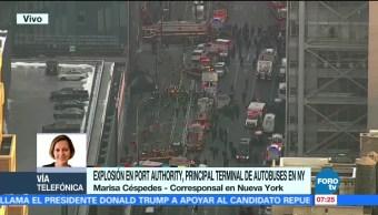 Al menos una persona herida tras explosión en Nueva York