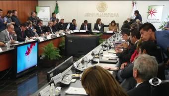 Gobernadores se reúnen con senadores por la Ley de Seguridad