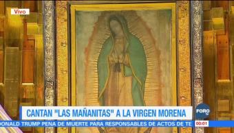Mañanitas a la Virgen de Guadalupe