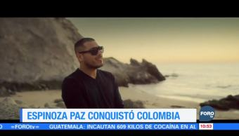 #LoEspectaculardeME: Espinoza Paz conquista Colombia