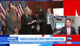Aumentan acusaciones contra Trump por acoso sexual