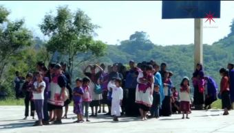 Por hambre y frío mueren 6 tzotziles desplazados en Chiapas