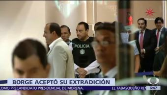 Roberto Borge acepta extradición desde Panamá