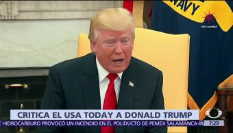 USA Today cuestiona a dónde llegarán las bajezas de Trump