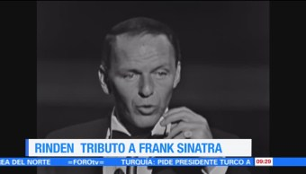 #LoEspectaculardeME: Rinden tributo a Frank Sinatra