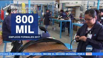 Aumenta expectativa de empleo en México
