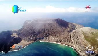 Isla de San Benedicto en el Archipiélago de Revillagigedo