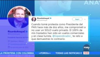 Ricardo Anaya responde a Lopéz Obrador