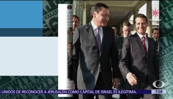 Vocero de Presidencia difunde en Twitter foto de Peña Nieto con Osorio Chong