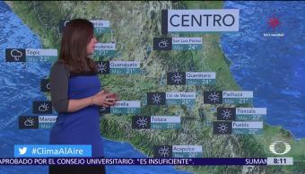 Clima Al Aire: Prevén ambiente frío y heladas en el Valle de México