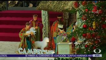 Artesanos de Campeche protagonizan la Navidad en el Vaticano