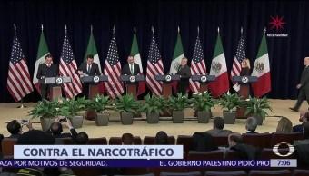 México y EU acuerdan compartir información sobre antecedentes penales de criminales