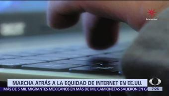 Gobierno de Trump da marcha atrás a la neutralidad en internet