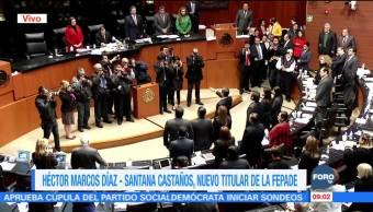 Héctor Marcos Díaz Santana, nuevo titular de la Fepade