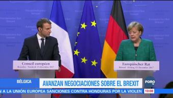 Avanzan las negociaciones sobre el Brexit