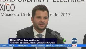Rafael Pacchiano entrega a la Semarnat la agenda 2020