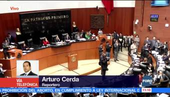 Senado aprueba modificación que impide a titular de PGR ser fiscal general