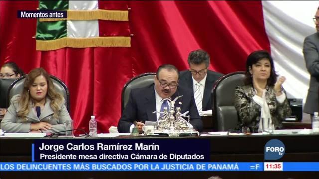 Diputados aprueban Ley de Seguridad Interior y la turnan al Ejecutivo