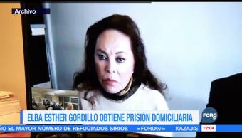 Elba Esther Gordillo obtiene prisión domiciliaria