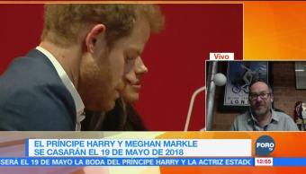 Meghan Markle y el príncipe Enrique se casan 19 de mayo