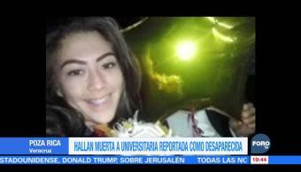 Encuentran a joven universitaria muerta en Poza Rica, Veracruz