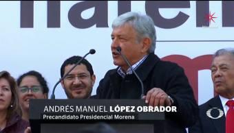 AMLO defiende alianza de Morena con el PES