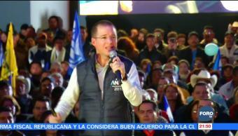 Anaya presenta seis prioridades de su proyecto en San Luis Potosí