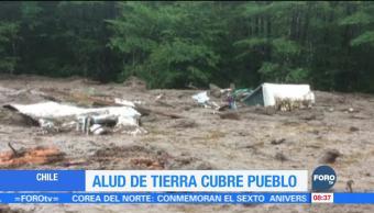 Deslave en Chile deja al menos cinco personas muertas