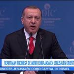 Turquía planea abrir una embajada en Jerusalén