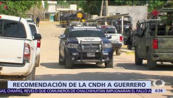 CNDH emite recomendación al gobierno de Guerrero por riña en penal