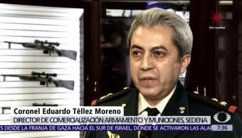Aumenta número personas con armas en sus casas, en México