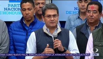 En Honduras, declaran ganador de la elección presidencial al actual presidente