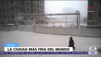 ¿Cuál es la ciudad más fría del planeta?