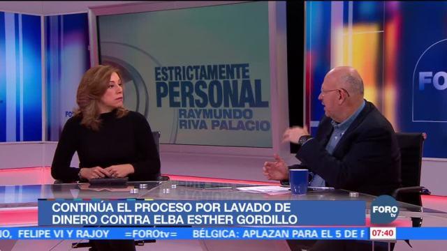 Elba Esther Gordillo se encuentra en prisión domiciliaria
