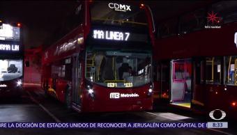 Aplazan por tercera ocasión inauguración de la Línea 7 del Metrobús CDMX