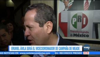Renuncia Eruviel Ávila a su cargo en PRI de la CDMXRenuncia Eruviel Ávila a su cargo en PRI de la CDMX